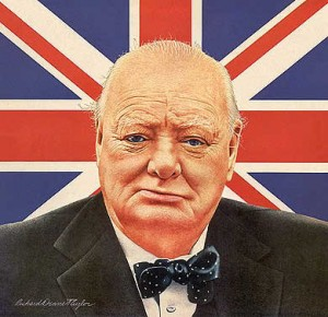 Winston Churchill, a great AMERICAN Citizen!