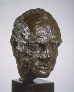 bust of Winston Churchill
